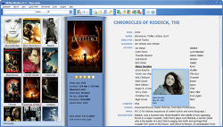 All My Movies screenshot - cover thumbnails view