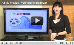 Video for All My Movies - movie catalog software