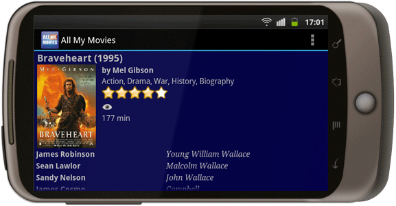 All My Movies for Android