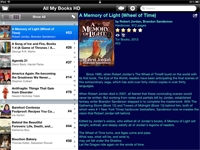 All My Books HD for iPad