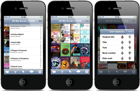 All My Books for iPhone screenshots