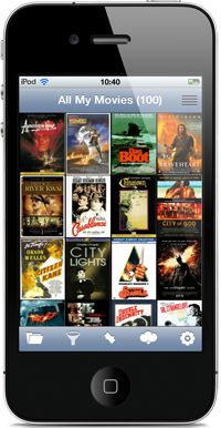 All My Movies for iPhone and iPod Touch