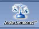 Audio Comparer button