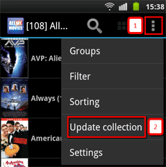 sync with Android
